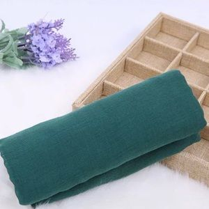 Green Cotton Scarf